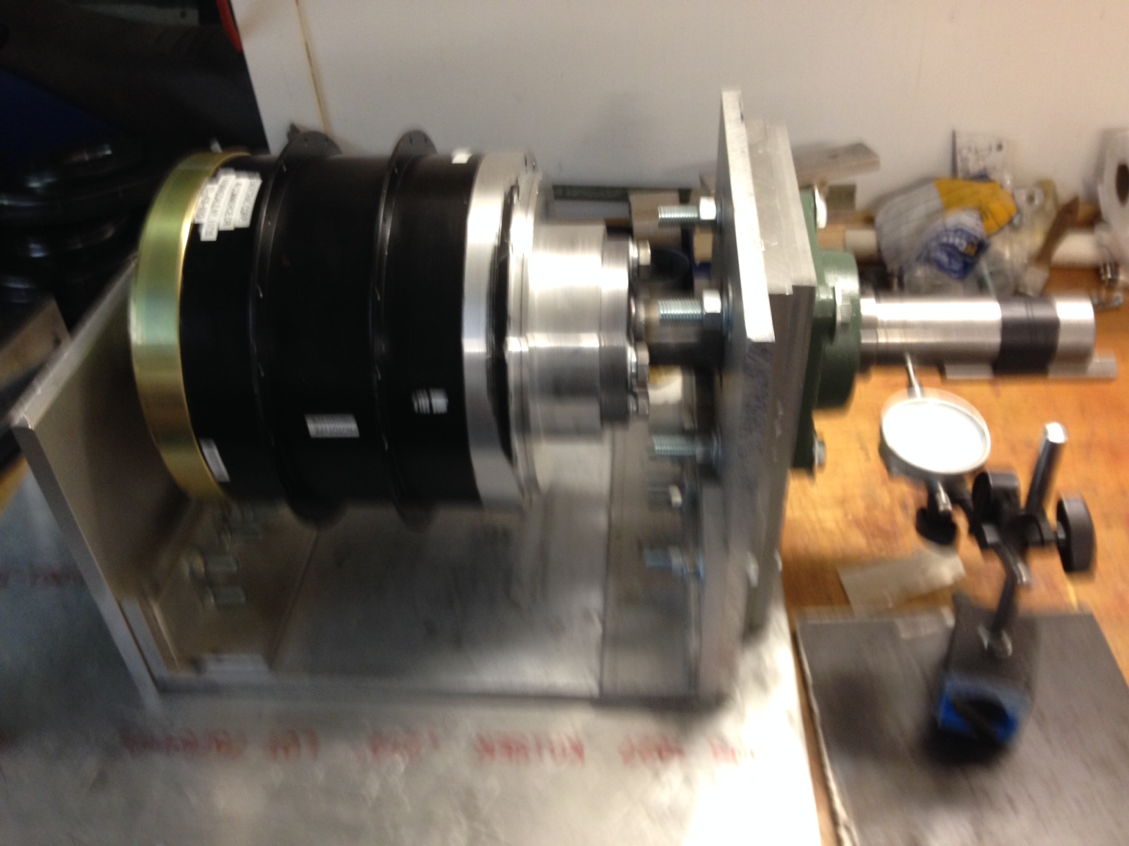 Motor in Cradle 2 inc shaft
